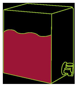 Bag in Box Vino Rosso